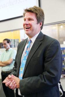 DSST Public Schools CEO, applauds the students' success.